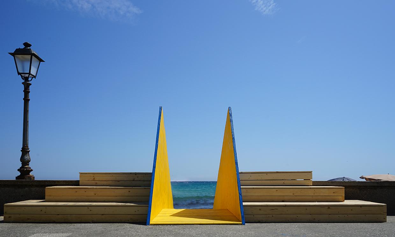 installazione - VAI oltre - San Cataldo, Lecce